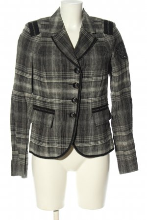 Air Field Blazer Tweed estampado a cuadros estilo «business»