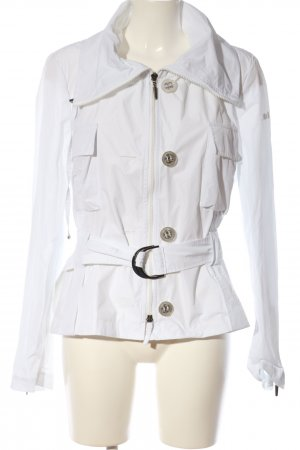 Air Field Chaqueta corta blanco look casual