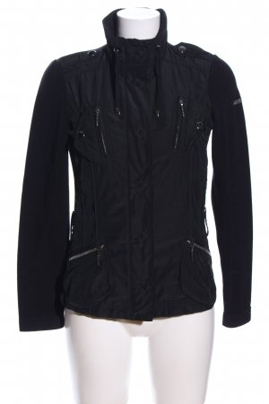 Air Field Chaqueta de entretiempo negro look casual