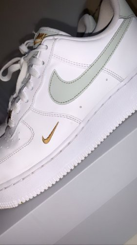 nike air force 1 Skater Shoes white-sage green