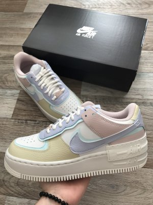 Air Force 1 Shadow - 'Glacier Blue' Summit White Fantome Pastell EU39