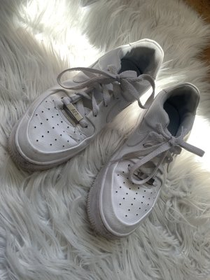 nike air force 1 Zapatos brogue blanco