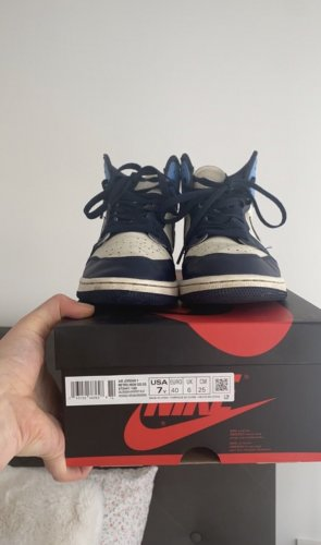 air jordan 1 high obsidian og