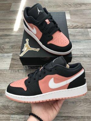 Air Jordan 1 Low (GS) - Pink Quartz Black