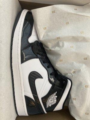 Air Jordan High top sneaker zwart-wit