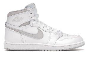 Air Jordan Sneaker alta bianco-grigio chiaro