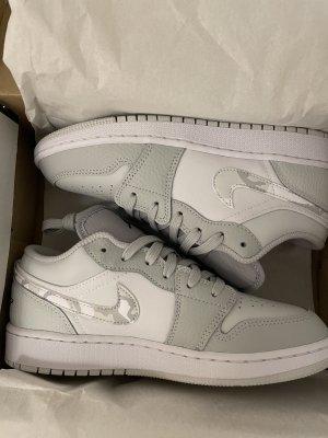 Air Jordan Lace-Up Sneaker light grey