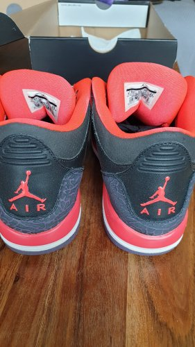 AIR JORDAN 3 RETRO GS 'CRIMSON' 398614005