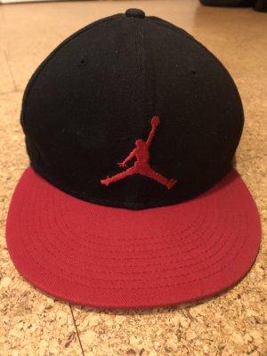 Jordan Gorra de béisbol negro-rojo
