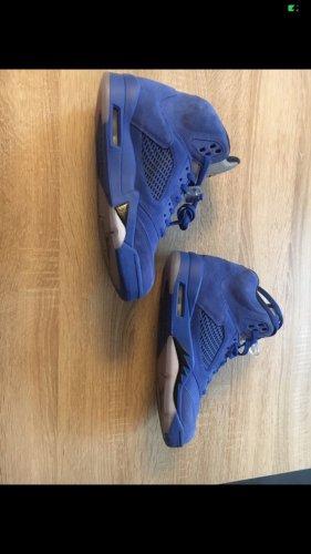 Air Jordan Wysokie trampki stalowy niebieski