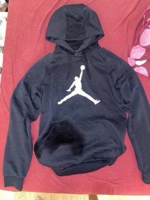 Air Jordan Fleece Jumper black-white