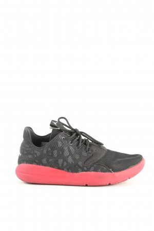 Air Jordan Lace-Up Sneaker animal pattern casual look