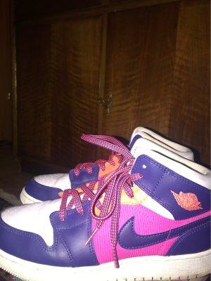 Air Jordan High top sneaker veelkleurig Leer