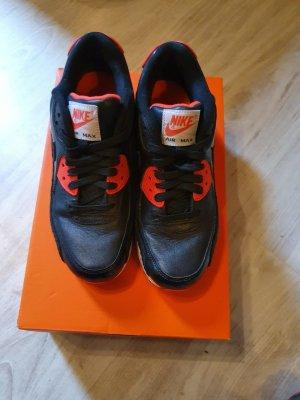 Nike Zapatilla brogue negro-rojo