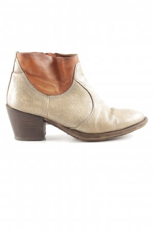 Air Step Ankle Boots gold-colored-light orange casual look