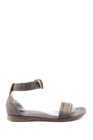 Air Step Sandalo con cinturino marrone stile casual