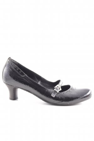 Air Step Strapped pumps black elegant