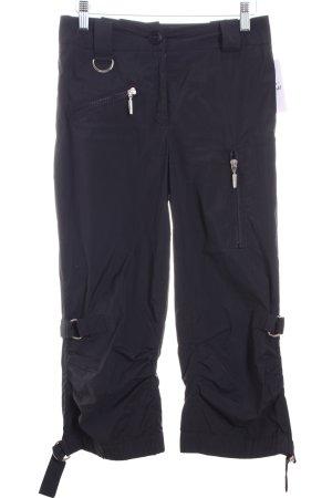 Airfield Pantalon 7/8 noir style athlétique