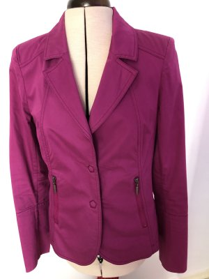 Airfield Blazer court rouge framboise coton