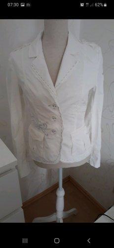 Airfield Blazer en jersey blanc