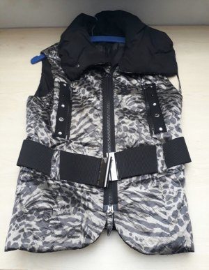 Airfield designer gilet Leoparden look