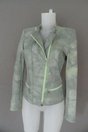 Airfield Jersey blazer lichtgroen-zilver Lycra