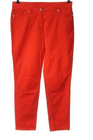 Airfield Pantalon cinq poches rouge style décontracté