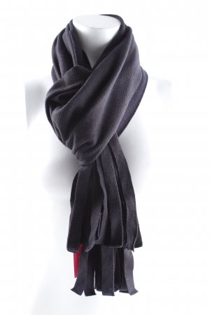 Airfield Fringed Scarf black casual look