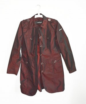 Airfield Frock Coat bordeaux polyester