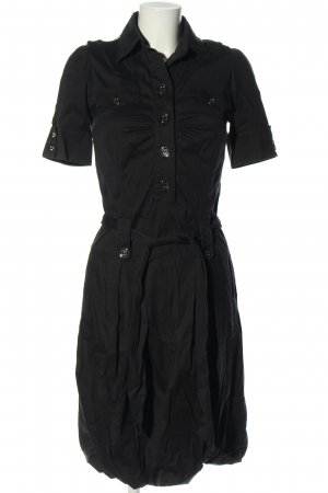 Airfield Robe chemise noir style décontracté