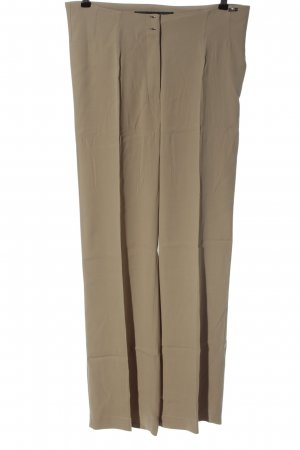 Airfield High Waist Trousers cream casual look