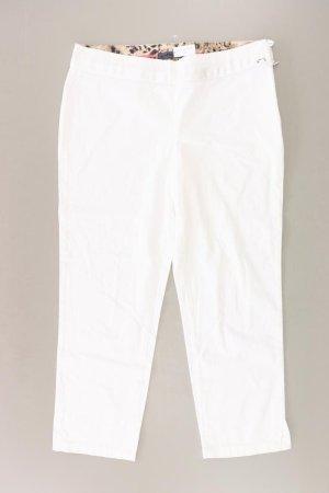 Airfield Spodnie w kolorze białej wełny Bawełna
