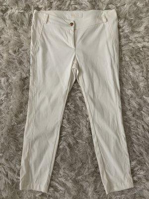 Airfield Pantalon cigarette blanc