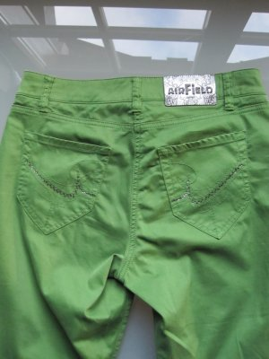Airfield Five-Pocket Trousers green cotton