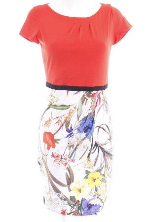Airfield Jerseykleid florales Muster klassischer Stil
