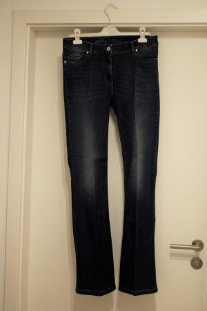 Airfield Jeans svasati blu scuro-blu Cotone