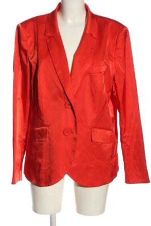 Airfield Klassischer Blazer rouge style d'affaires