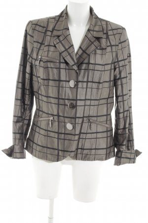 Airfield Short Blazer bronze-colored-black check pattern street-fashion look