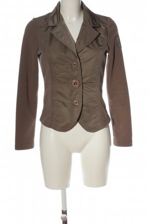 Airfield Blazer corto marrone stile casual
