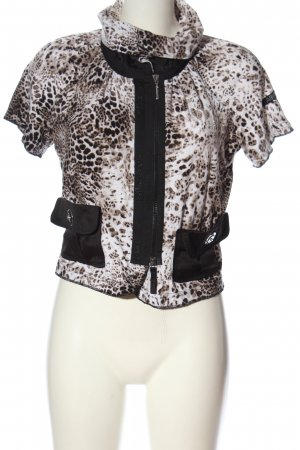 Airfield Short Sleeved Blouse animal pattern casual look