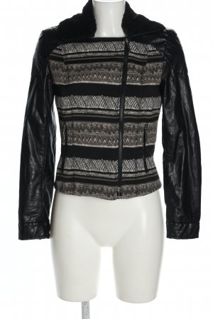 Airfield Kurzjacke grafisches Muster Casual-Look