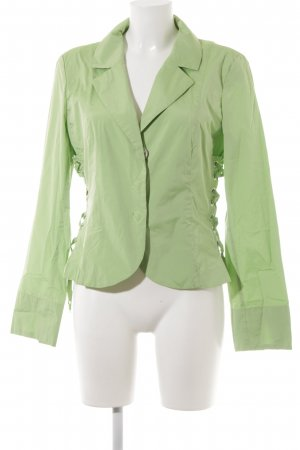 Airfield Long Sleeve Blouse lime-green-silver-colored