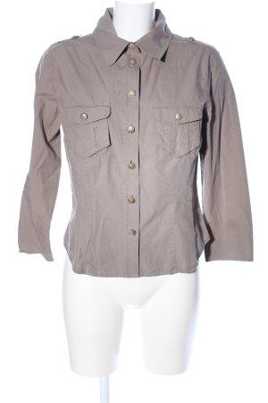Airfield Shirt met lange mouwen lichtgrijs casual uitstraling