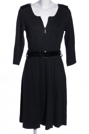 Airfield Langarmkleid schwarz Business-Look