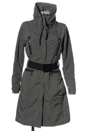 Airfield Długa kurtka jasnoszary-czarny W stylu casual