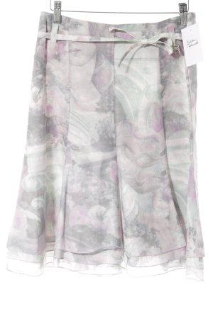 Airfield Midi Skirt themed print casual look