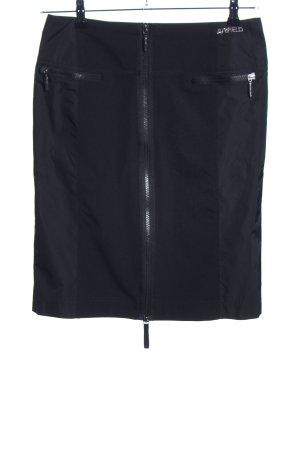 Airfield Mini rok zwart elegant