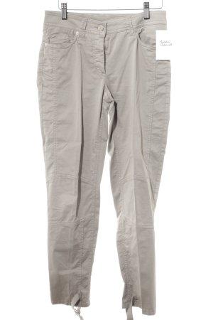 Airfield Pantalon cigarette gris brun style décontracté