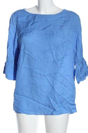 Airfield Slip-over blouse blauw elegant