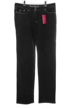 Airfield Jeans slim noir style décontracté